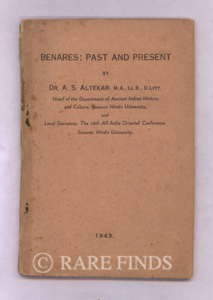 /data/Books/BENARES - PAST AND PRESENT.jpg