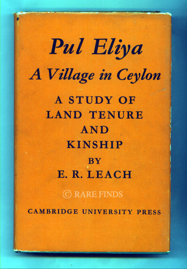 /data/Books/PUL ELIYA A - VILLAGE IN CEYLON A STUDY OF LAND TENUR AND KINSHIP.jpg
