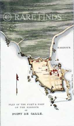 /data/Maps/City and Town Maps/PLAN OF THE FORT AND PART OF THE HARBOUR OF POINT DE GALLE.jpg