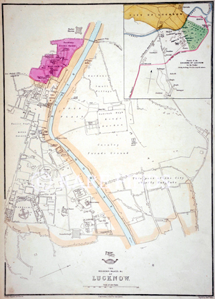 /data/Maps/City and Town Maps/THE RESIDENCY, PALACE AND OF LUCKNOW (CITY OF LUCKNOW).jpg