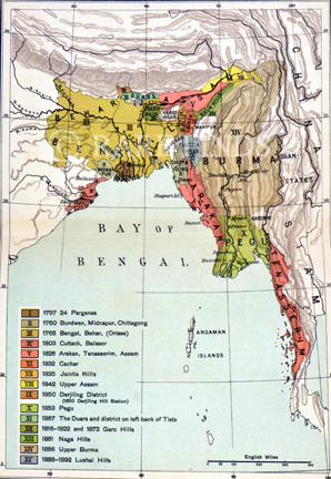 /data/Maps/India - Hindoostan/THE GROWTH OF BRITISH BENGAL ASSAM AND BURMA.jpg